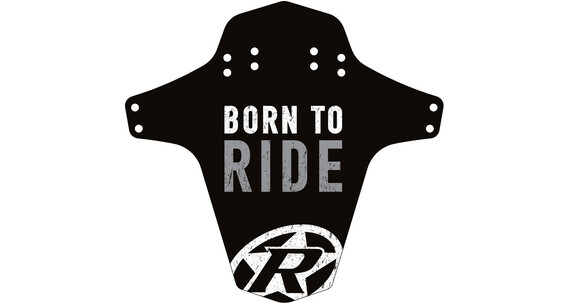 Reverse Born to Ride - Guardabarros - gris/negro